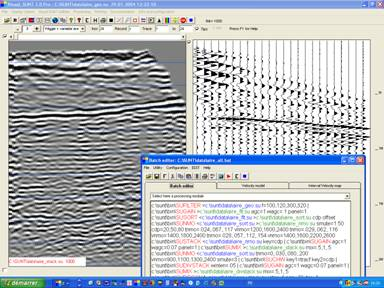 Visual SUNT - Seismic Reflection Processing Software by W_GeoSoft