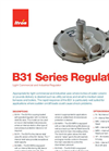 Model B31 - Light Commercial and Industrial Regulator- Brochure