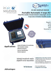 Inair - Portable Automatic 4 Ways Air VOC Sampler Brochure