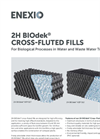 2H BlOdek Cross-Fluted Fills - Brochure