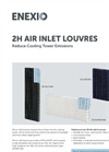 ENEXIO - 2H Air Inlet Louvres For Cooling Towers - Product Profile Brochure