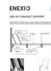 2H Tubedek - Support System for Lamella Clarifiers - Brochure
