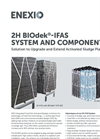 2H BIOdek- IFAS (Integrated-Fixed-Film-Activated-Sludge) - Brochure
