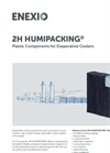 2H HUMIPACKING Plastic Components for Evaporative Coolers - Brochure