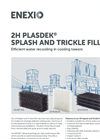 2H PLASDEK NET 150 / FC20.30 / FC70.34 Splash and Trickle Fills - Brochure