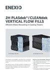 2H PLASdek / CLEANdek  Vertical Flow Fills - Brochure