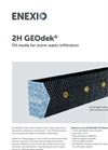 2H GEOdek Fill Media for Storm Water Infiltration - Brochure
