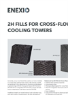 2H Fills for Cross-Flow Cooling Towers - Product Profile Brochure