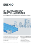 2H SANIPACKING - Anti-Legionella Drift Eliminators for Cooling Towers - Brochure