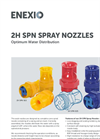 2H SPN Spray Nozzles - Optimum Water Distribution - Product Profile Brochure