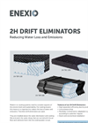 2H 2H TEP 130 / 2H TEC 130 / 2H TAP 160 Drift Eliminators - Brochure