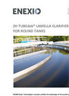 2H TUBEdek Lamella Clarifiers for Round Tanks - Brochure