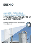 Market Leader for Functional Surfaces Efficient Solutions for Water and Air Treatment – Brochure