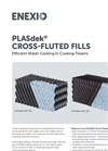 2H Plasdek - Counter-Flow Cooling Tower Fills - Brochure