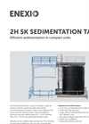 2H - Model SK - Sedimentation Tank - Brochure