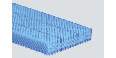 2H SANIPACKING - Anti-Legionella Drift Eliminators for Cooling Towers