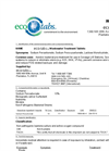 eco-tabs - Wastewater Tablets Brochure
