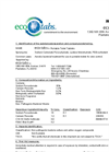 eco-tabs - Portable Toilet Tablets Brochure