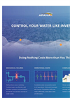 APANA™ - Manage Water Like Inventory Software - Brochure