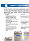 Intermediate Bulk Containers - Brochure