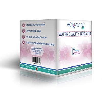 AquaVial - Rx Dental Waterline Quality Indicator-Pack of 8