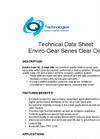 Enviro-Gear - Model GL-5 Series - Premium Mineral Oil Based Gear Lubricant Datasheet