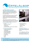 Letre - 900 and 800 - Plate And Frame Filter Presses Brochure