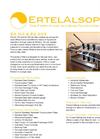 EA 102 & EA 203 Series - Laboratory Filter Press Brochure