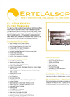 ErtelAlsop - Model EA 470 & EA 630 - Recessed Chmaber Filter Presses Brochure
