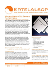 Micro-Media - XL Series - Filter Pads Brochure