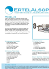4S - AccuScale Bench Scale Plate and Frame Filter- Brochure
