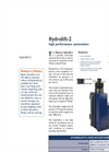 HYDROLIFT - Model 2 - Manual & Automated Pump Actuators Brochure