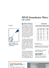 Waterra - Model FHT-45 - Disposable Groundwater Filters - Brochure
