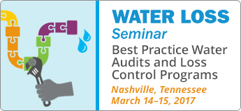 Water Loss Seminar- Best Practice Water Audits and Loss Control Programs