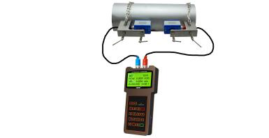 TSONIC - Model TUF-2000H - Handheld Portable Ultrasonic Water Flow Meter