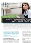 ABBOTT INFORMATICS PARTNERS WITH BAYER CROPSCIENCE