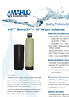 Marlo - Model MGT Series - Commercial Water Softeners- Brochure