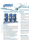 Marlo - Model MR Series - Commercial Water Softening Systems Brochure