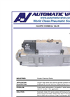 Automatic - Model B7058-029 - Caustic Chemical Valve - Datasheet