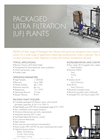 Packaged Ultra Filtration Plants (UF) Brochure