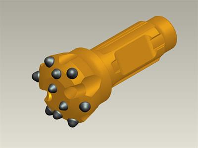 Model ZRQ90-CIR90 - Low Pressure DTH Drill Bit
