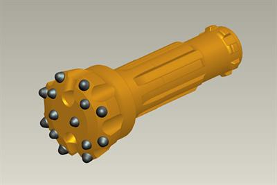 Model ZRQ115B-DHD340 - High Pressure DTH Drill Bit