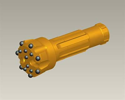 Model ZRQ140A1-DHD350 - High Pressure DTH Drill Bit