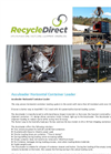 RecycleDirec - Acculoader Horizontal Container Loader - Brochure
