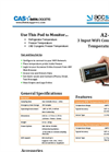 Accsense - Model A2-05-W - WiFi Temperature Data Logger Brochure