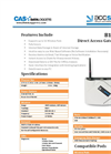 Accsense - Model B1-06 - Gateway Wireless Data Logger Brochure
