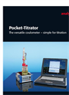 Elemental Analysis: C, N, S, Cl - Pocket Titrator Flyer