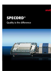 SPECORD S 600/ S 300 - Spectrophotometers