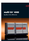 multi EA 4000 - Micro-Elemental Analyser Brochure