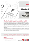 Non-Metal Analysis Using HR-CS-MAS - Flyer